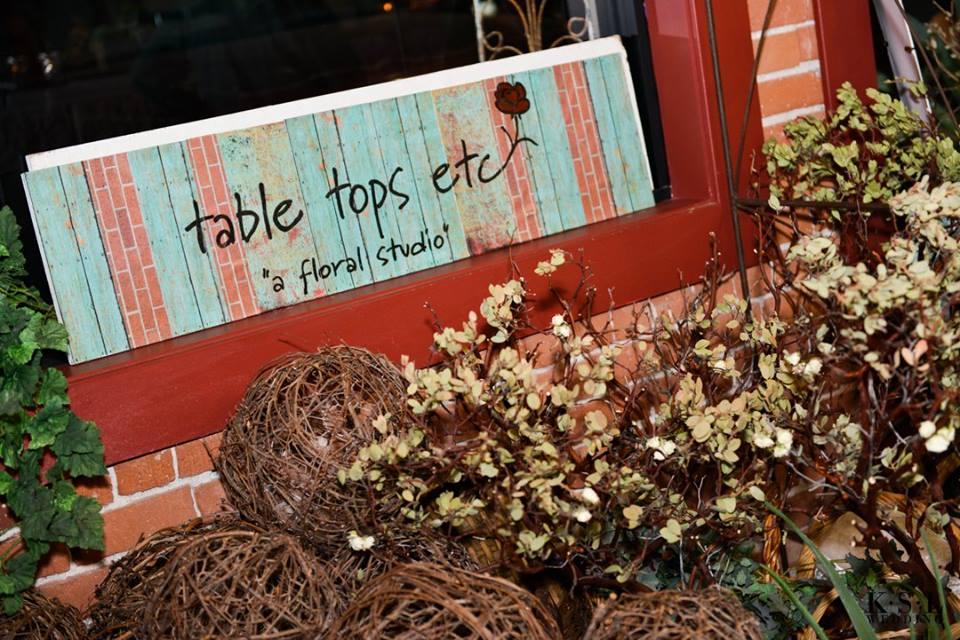 Table tops etc spread