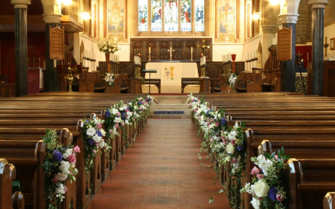 The Decline of Church Weddings